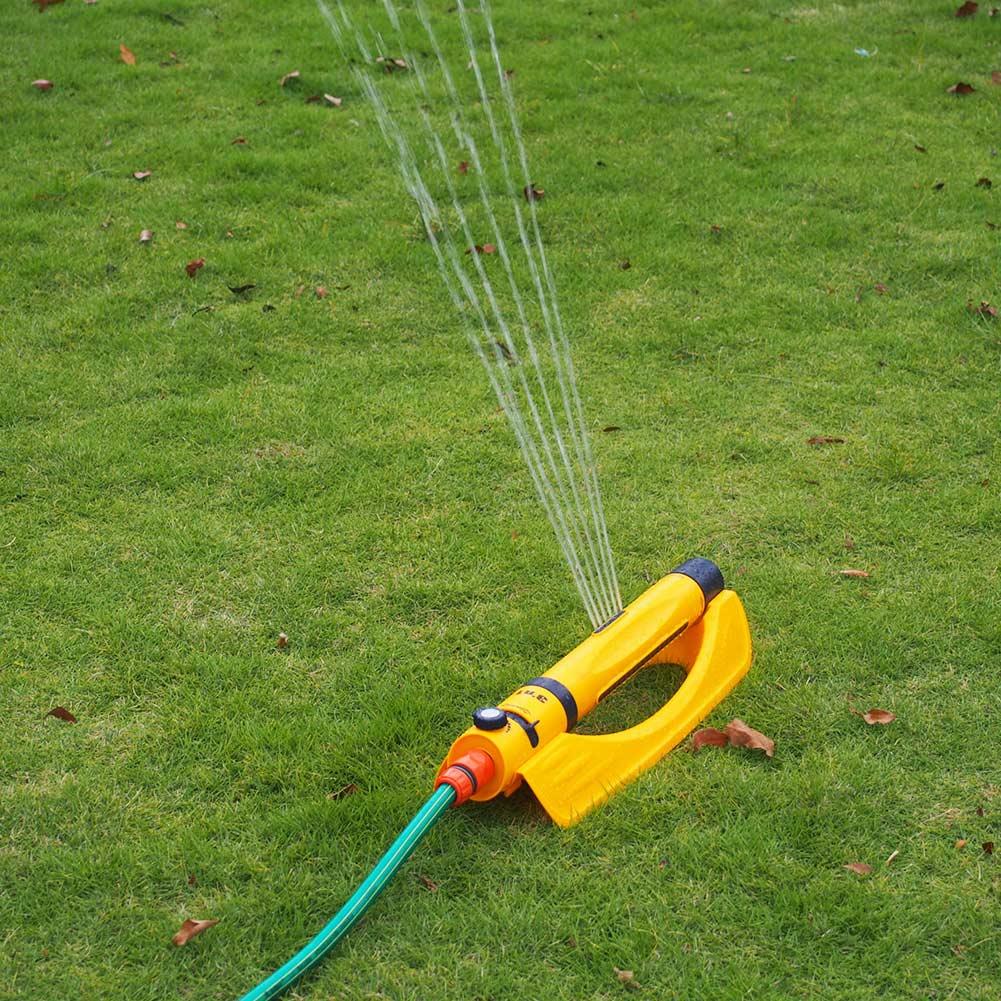 Hot Sale Lawn Sprinkler Plastic Automatic Rotating Adjustable Garden Watering Irrigation Nozzle Sprinklers