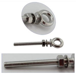 Image 5 - Marine 316 Stainless Steel Long Lifting Eye Bolts Eyebolts Stainless Steel for Outdoor Diving Boat  M6*60mm