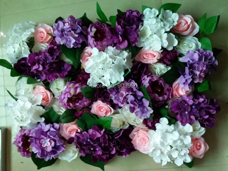 SPR nové! Svatební růžová fialová fáze květina zeď pozadí - Pro svátky a večírky