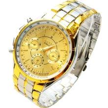 New 2016 Fashion Quartz Watch Men Stainless Steel Luxury Sport Analog Clock Men's Wrist Watch for men Gift