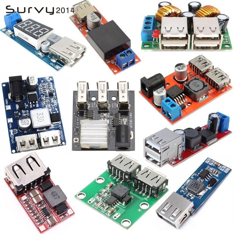 USB Ladegerät Modul DC Buck step down Converter power supply module