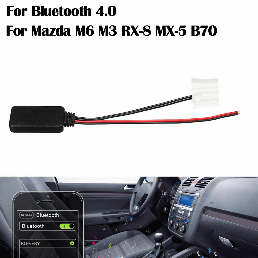 YATERKU For Car Bluetooth Adapter Kit Audio Stereo Aux