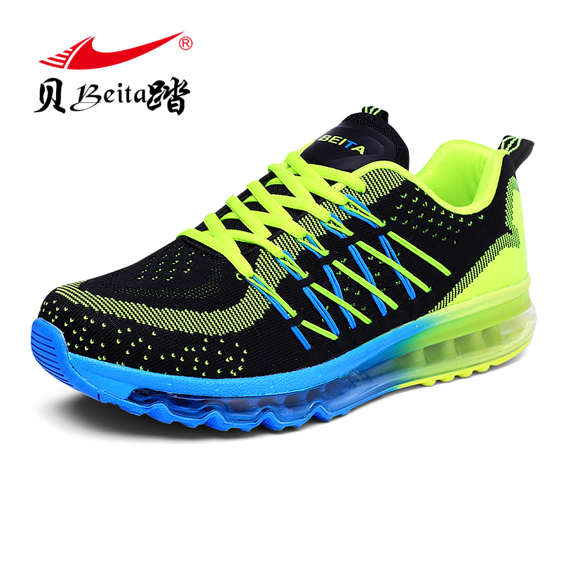 Brand BEITA The New 2016 Light Sports Shoes Man Trainers Sport Shoes Lncrease Mens Sport Sneakers Air Cushion Running Shoe beita brand new winter sports shoes warm air cushion running shoes for men 2016 leisure sneakers men size eu39 44