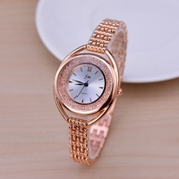 Fashion Rose Gold Bracelet Watches Women Top Luxury Brand Ladies Diamond Quartz Watch Famous Watch Relogio