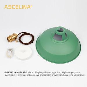 Image 5 - 2 Pieces Pendant light,Modern pendant lamp,multiple colour luminary,Loft hanging lamp,knob Switches,E27 base,for home&store