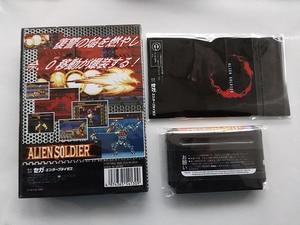 Image 2 - Md jogo: soldado alienígena (versão japão! Caixa + manual + cartucho!)