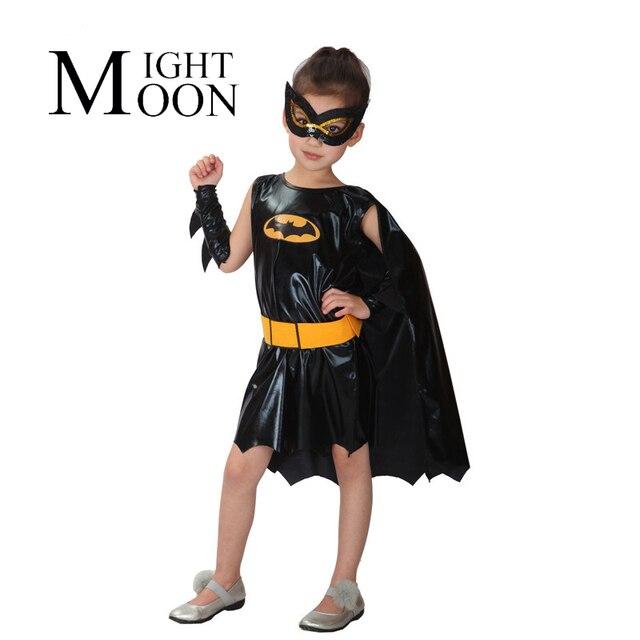 Favorito MOONIGHT Ragazze Bat Halloween Costumi per Bambini Batgirl  TF35