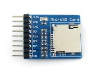 Micro SD Storage Board # Used to Connect Micro SD Storage Board Micro SD TF Card Memory Shield Module SPI