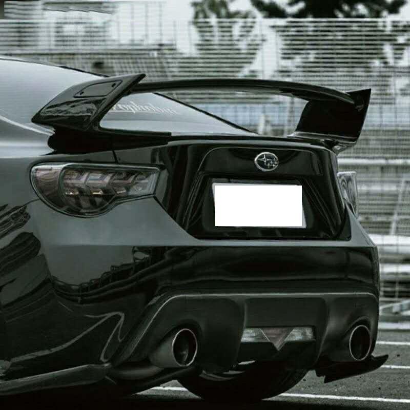13-на GT86 BRZ Роуэн Стиль Спойлеры для Toyota 86/BRZ TOMMYKAIRA спойлер багажника (UNPAITED цвет)