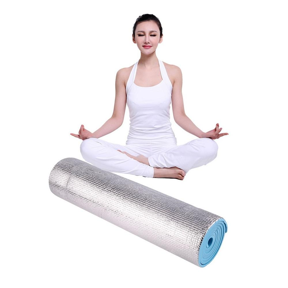 Waterproof Single Yoga Mat Non-Slip 6mm Thick Body Building Health Lose Weight Exercise Gymnastics Cushion Fitness Pad