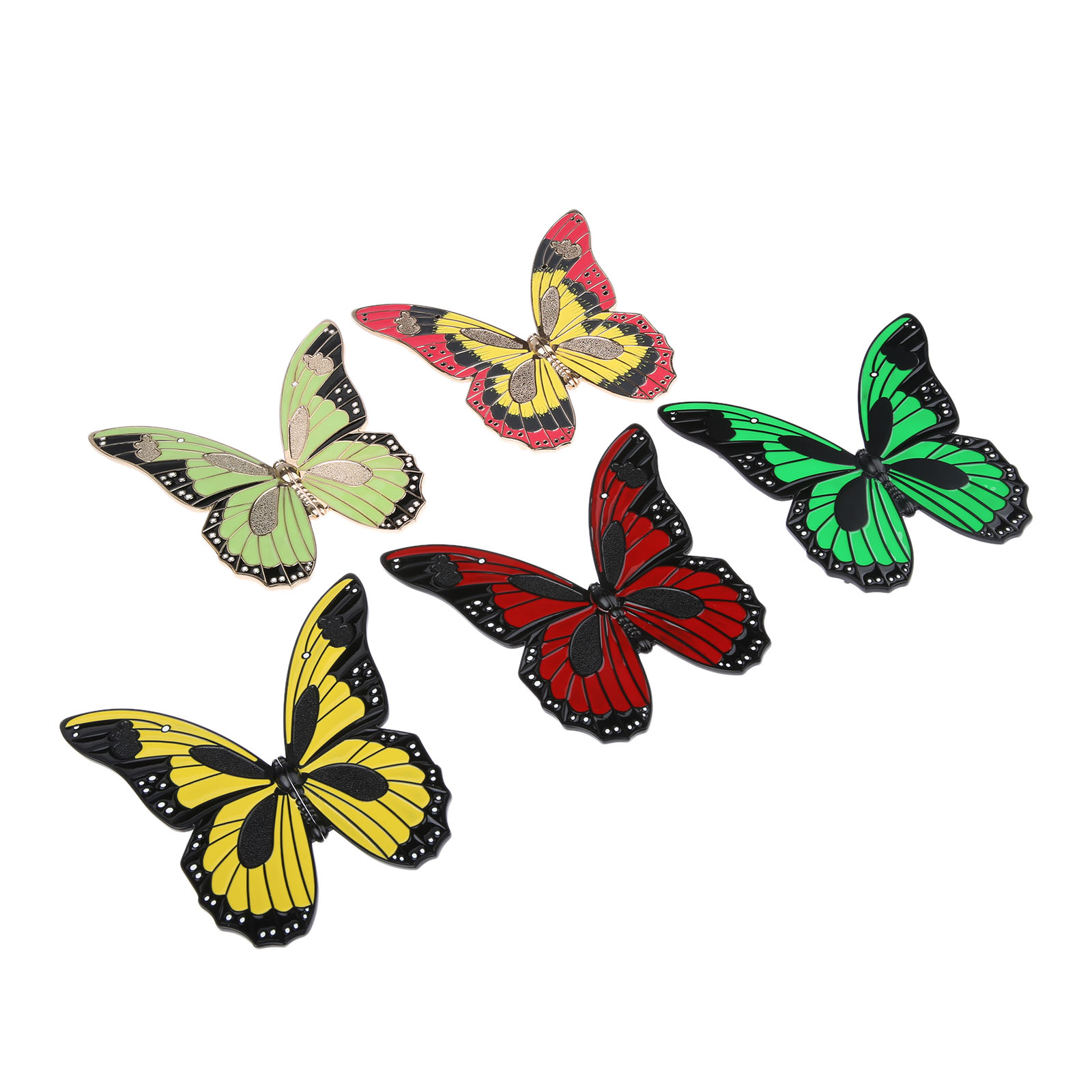 DRELD 1Pc Butterfly Furniture Handles Cabinet Knobs and Handles Zinc ...