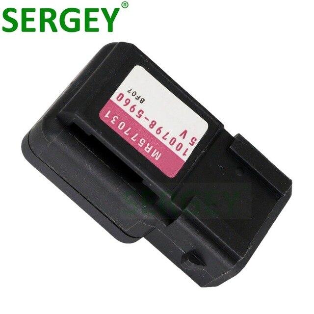 SERGEY nueva marca de Sensor de presión MR577031 100798-5960 Mapa de 1007985960 de Sensor para MITSUBISHI PAJERO L200