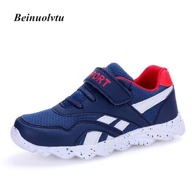 2017 Kids Sneakers Sports shoes Comfortable Running shoes Children Sneakers Breathable Girls Kids shoes