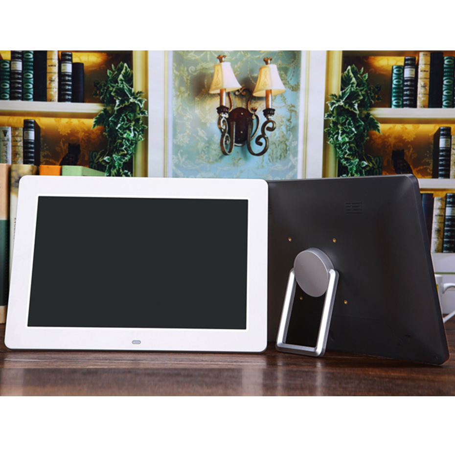 12 inch LCD Electronic Photo Frame HD 1024*600 Digital Photo Frame Support Video Music MP3 MP4 Movie Player Remote Control цены