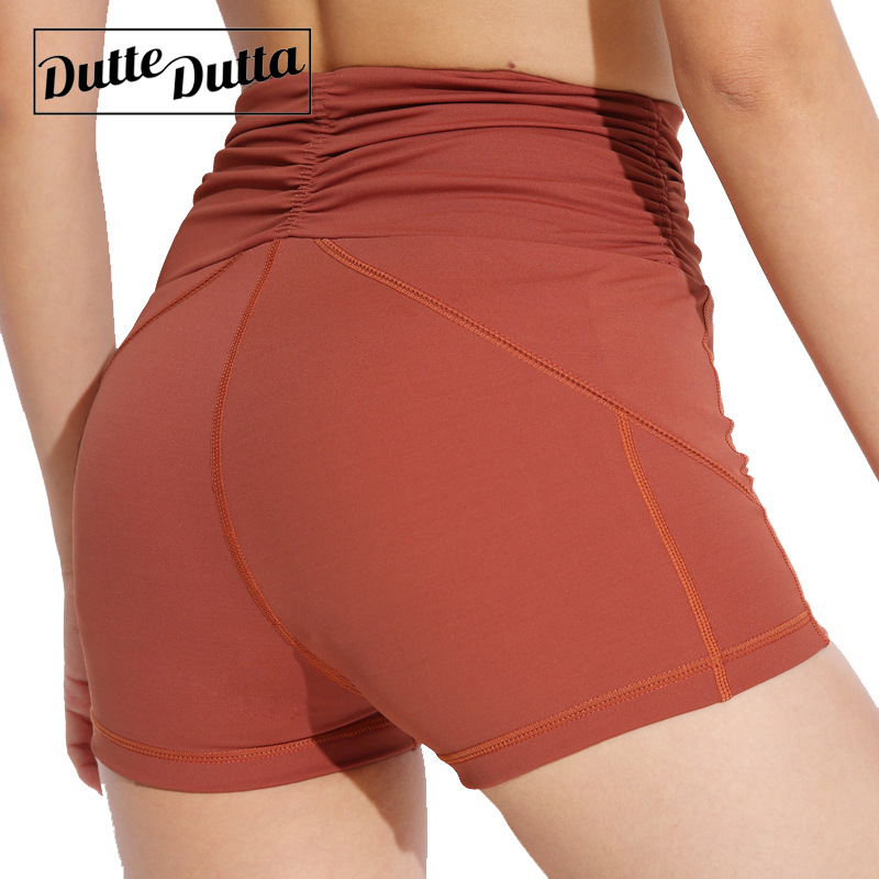 Legging Gym Workout Short Tight Compression High Waist Sport Shorts Women Hot Yoga Push Up Sports Wear For Fitness Activewear