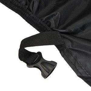 Image 2 - Czarny odkryty motocykl deszcz motocykl pokrywa L dla Honda CBR 600 1000 RR Suzuki GSXR Yamaha YZF R1 R6 Kawasaki Ninja ZX 6R