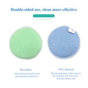 Image 2 - 3PCS ad Alta densità antibatterico spugna pulita spugna da cucina bagno pulito spugna magica wipe paglietta spazzola per la pulizia del Forno