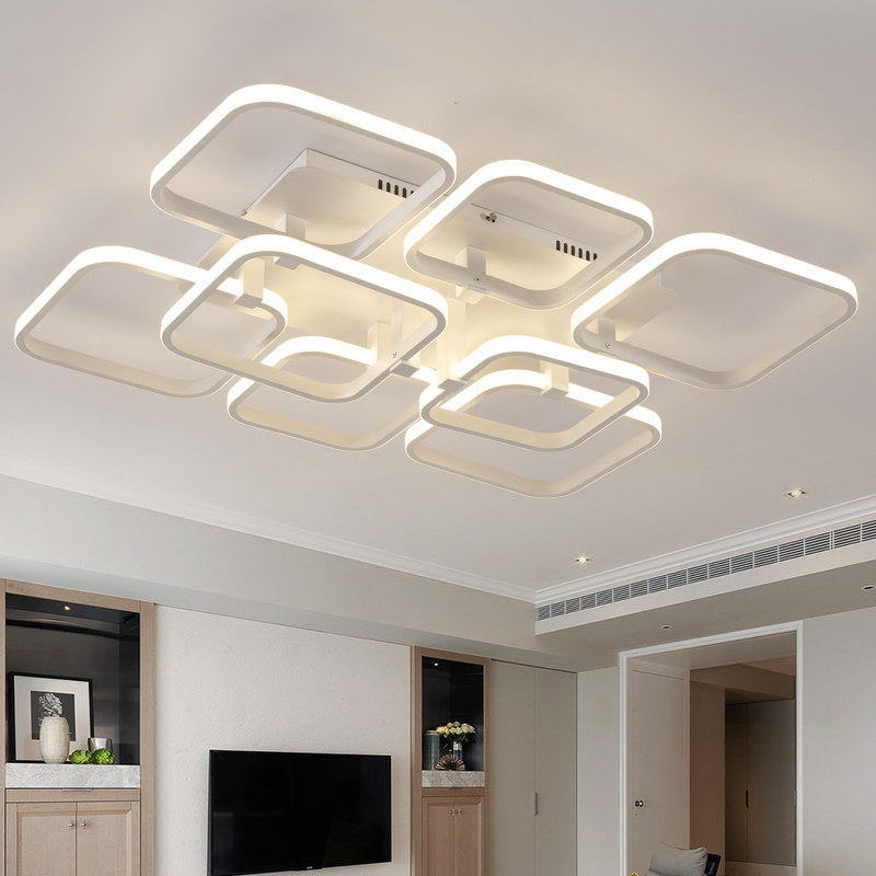 Square Modern Led Ceiling Light For Living Room Bedroom Fixture Indoor Lighting Plafonnier LED Ceiling Lamp Luminarias Para Sala mb barbell mbevkl 5кг