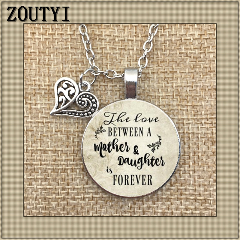 Memorable Necklace Wedding Day Love Between Mother And