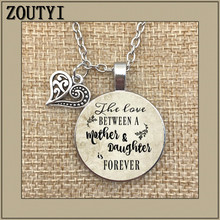 цена на Memorable necklace, wedding day, love between mother and daughter forever, gift for mother, gift for daughter