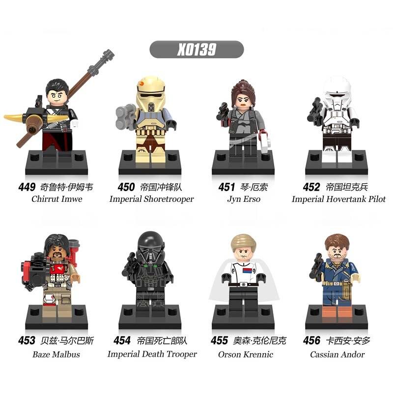 Model Building Buy Cheap 80pcs Starwars Superhero Rogue One Baze Death Trooper Building Blocks Bricks Friends For House Games Children Toys Iluminador