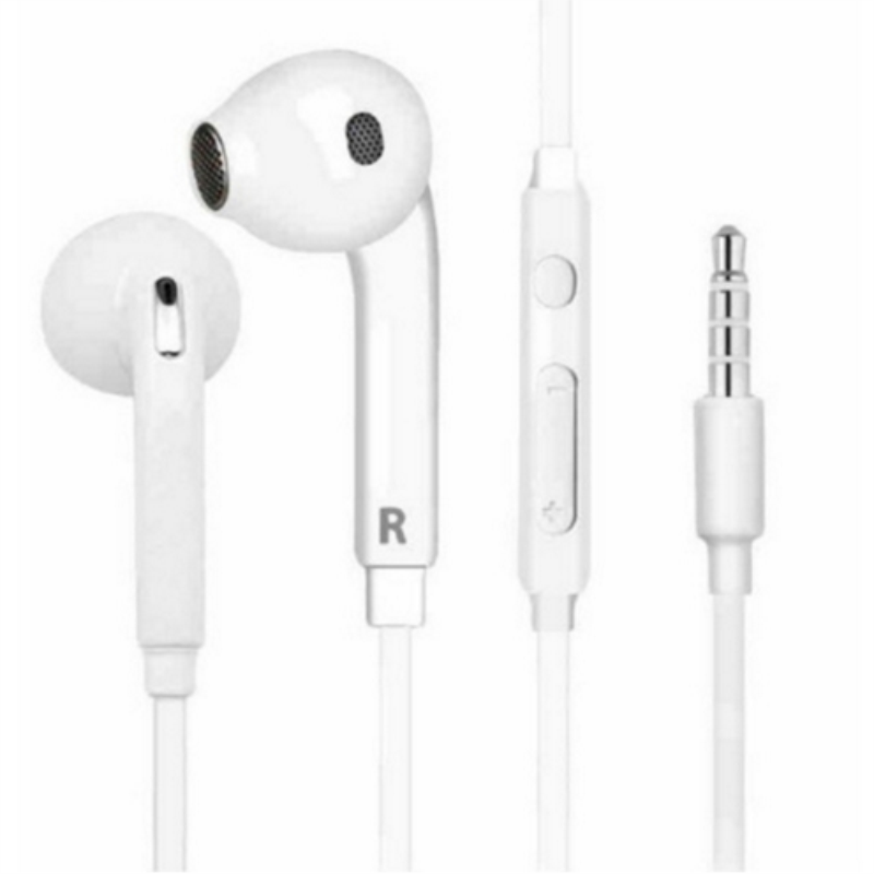 Auriculares estéreo de 3.5mm auricular con cable portátil deporte de auriculares