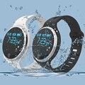À prova d' água do bluetooth inteligente pulseira relógio banda esportes relógio pedômetro monitor de sono para iphone samsung smart devices wearable