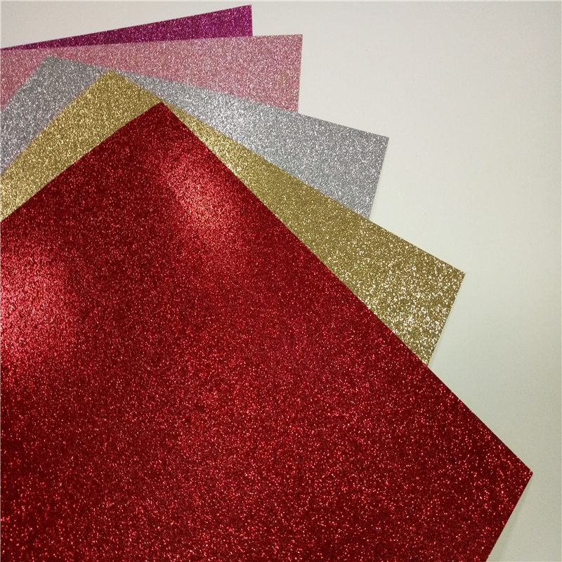 235pcs Glitter Paper hand diy cardstock Craft Paper