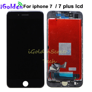 Image 1 - ЖК экран без битых пикселей Tianma для Apple iPhone 7, 7g, 7 plus, 7 +, ЖК дисплей, стекло с сенсорным дигитайзером в сборе, мобильный телефон