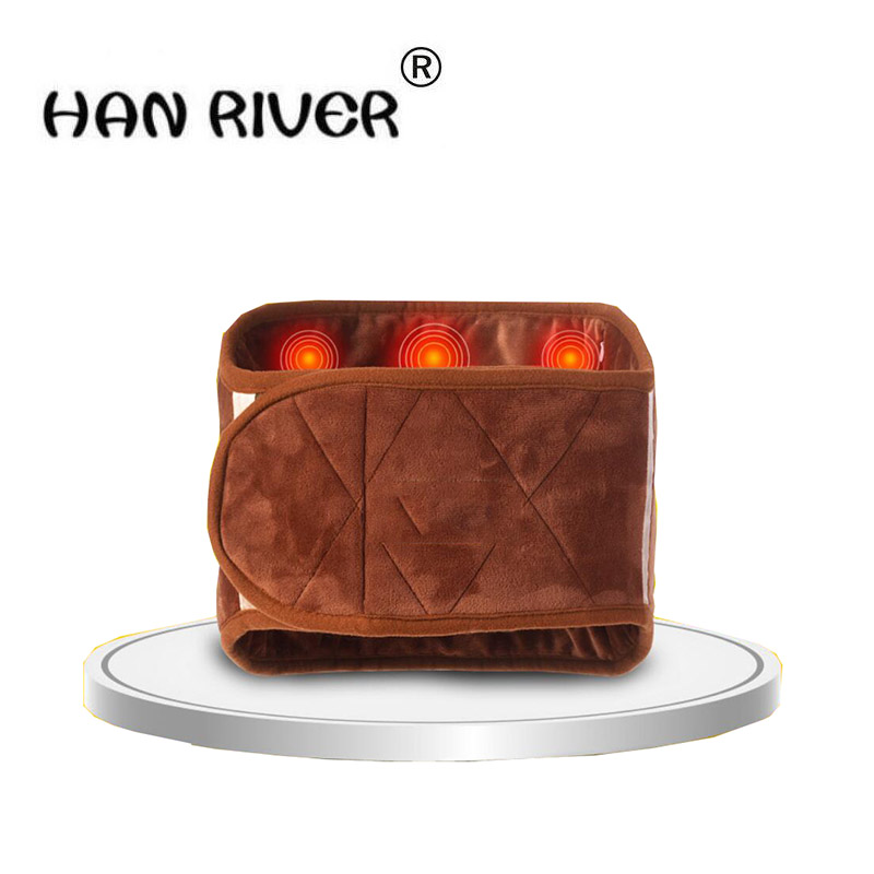 220V Body massager coarse salt hot packs electric heating moxibustion therapy hot compress bag to protect the waist