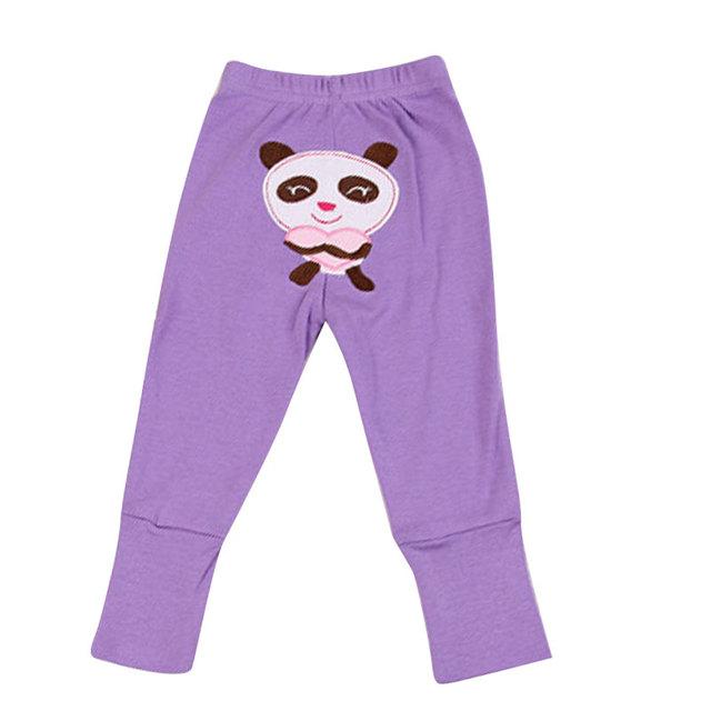 5 Unids Otoño Nuevo Algodón Pantalones de Los PP Del Bebé Muchachas de Los Muchachos Lindos Pantalones Bebés de Tejidos Cómodos Pantalones de Impresión de Dibujos Animados Infantil Roupa