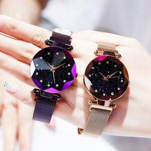 Image 3 - นาฬิกาข้อมือ 2019 นาฬิกาแบรนด์หรูคริสตัลแฟชั่นผู้หญิงนาฬิกาควอตซ์นาฬิกาข้อมือสำหรับสุภาพสตรี Relogio Feminino