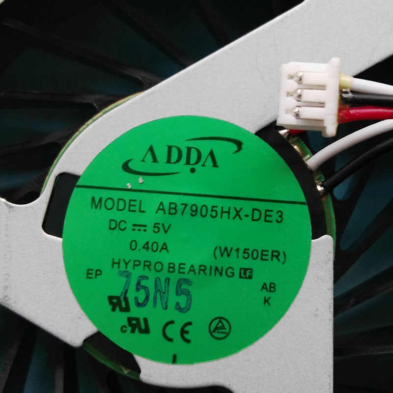 Baru Asli CPU Cooler untuk CLEVO W60SR K650D untuk Shinelon X5 6-31-w650n-101-2 AB7905HX-DE3 W150ER Fan Heatsink Radiator