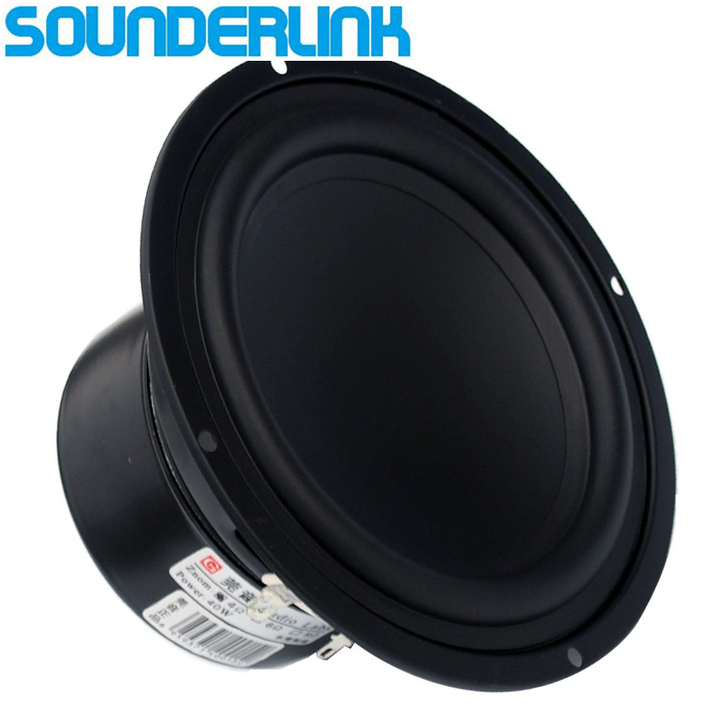 1 PC Audio Labs Top end 5 inch Linen cone 60W Bass driver woofer speaker subwoofer