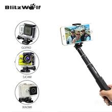 Blitzwolf nueva universal bluetooth selfi stick autofoto extensible monopie palo autofoto bluetooth para samsung para iphone 6 6 s plus