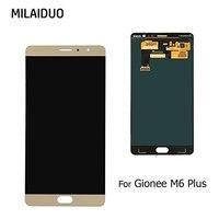 Запчасти для авто для Gionee M6 плюс GN8002S ЖК дисплей Дисплей + Сенсорный экран планшета Ассамблеи без рамки Оригинал 6,0 золото