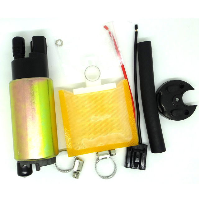 Electric Fuel Pump + Full Install Kit (Oil Tube+Hose Clamps+Strainer+Rubber Cap) V6 3.8L 2011 Kia Borrego