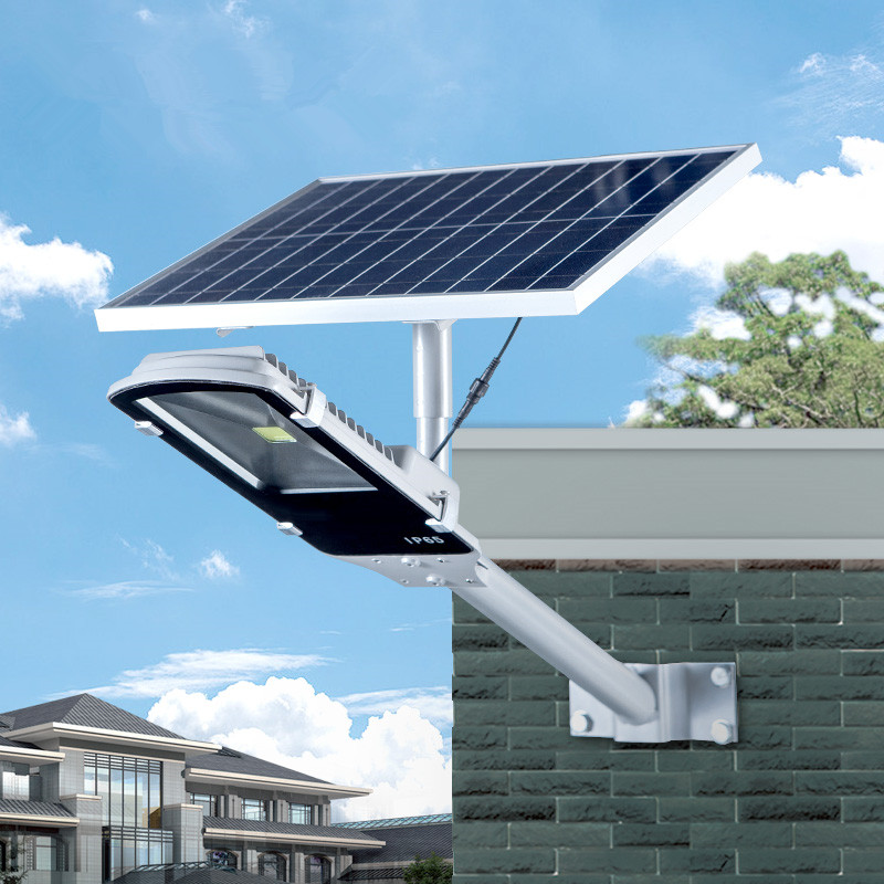 20W Solar Power Panel 12W LED Street Light Solar Sensor Lighting Outdoor Path Wall Emergency Lamp Security Spot Light Luminaria