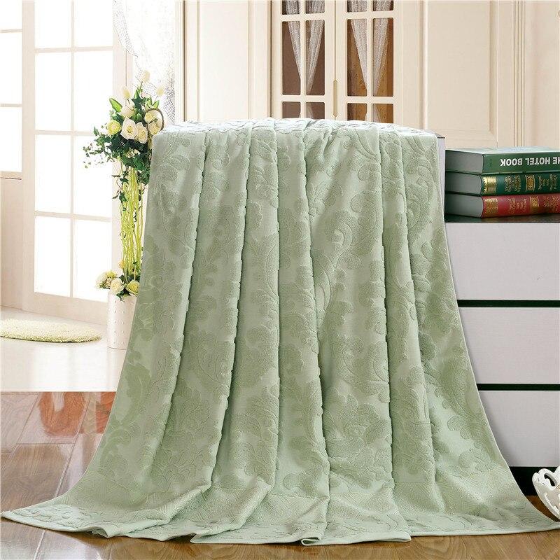Couverture de serviette en ventes couvertures en pur coton jette couverture de climatisation 78