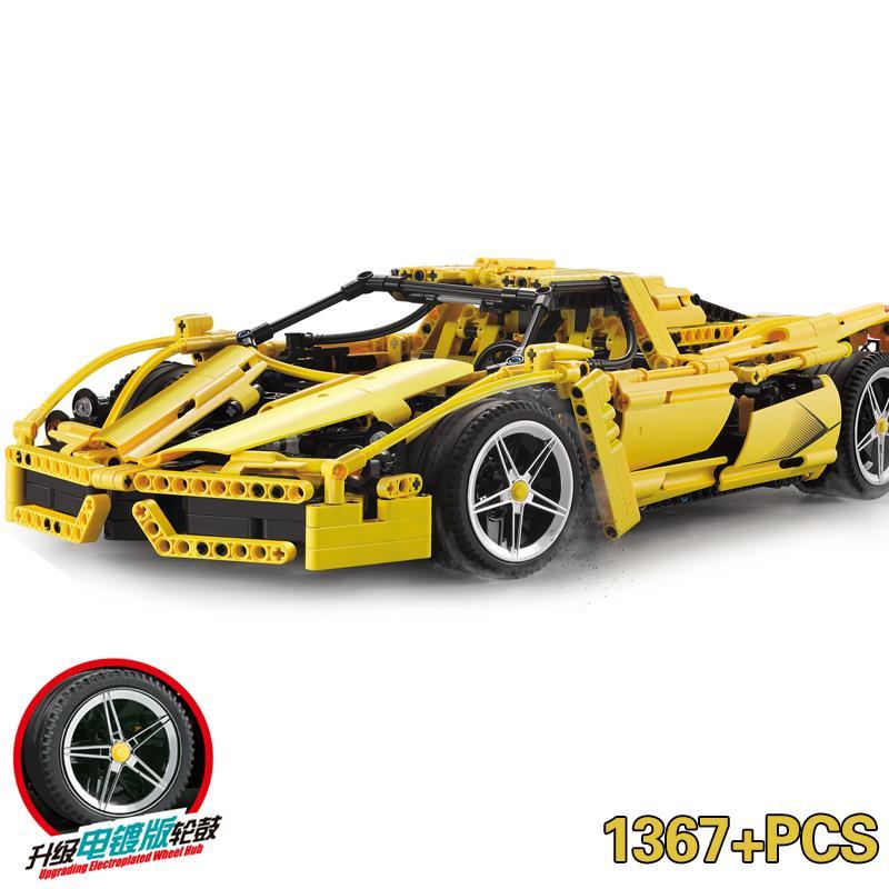 Décool Mobile legoing Technic 1367 pièces F1 Super sport voiture vitesse Champions ville MOC bloc de construction briques bricolage jouets pour enfants