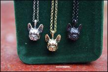 Ожерелье в стиле ретро хиппи французский бульдог панк украшения