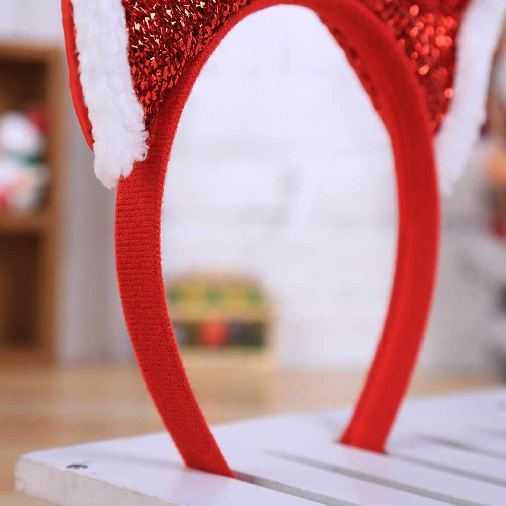 Hot Christmas Headband Santa Xmas Party Decor ผมคู่สายคล้องคอหัว Hoop คริสต์มาส headband หูเครื่องแต่งกาย louis vuitton กระเป๋า