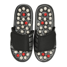 1 Pair Reflexology Sandals Foot Massager Slippers Acupressur
