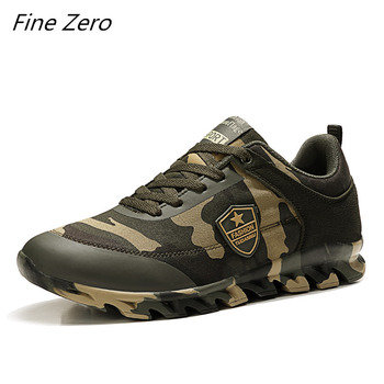 Autumn Spring Men's Women's Running Shoes Unisex Sport Outdoor Sneakers Breathable Women Camouflage green Walking Jogging Shoes 2