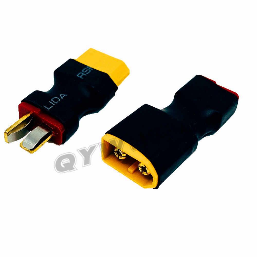 1 sztuk XT60 do wtyczki T złącze adapter RC do samochodu RC samolotów RC lipo baterii ESC ładowarka