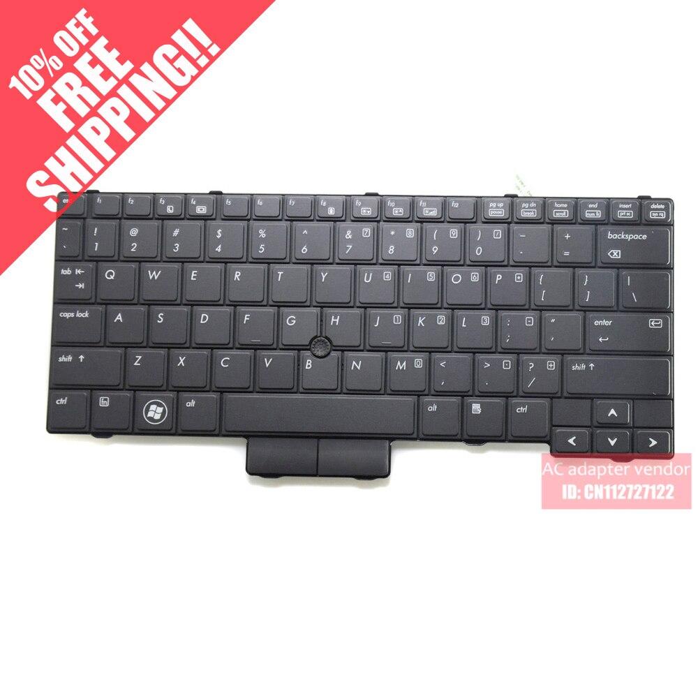 Remplacer tout neuf pour HP Elitebook 2540 P 2540 clavier d'ordinateur portable version US