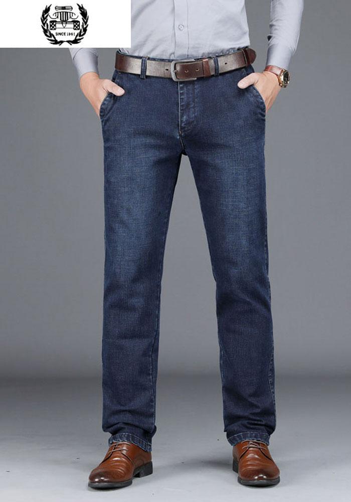 30 ~ 42 vêtements Designer Jeans hommes haute qualité marque Denim pantalon épais pantalon droit mode vêtements automne pantalon hommes Jeans