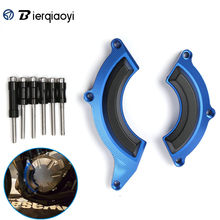 For Kawasaki Z900 2017 Motorcycle Accessories Aluminum Engine Stator Cover Frame Slider Protector kawasaki z900 parts