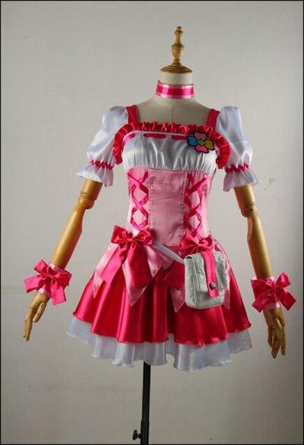 Аниме довольно лечения вылечить персик косплей костюм Индивидуальный заказ Любой Размер