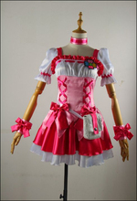 Anime Pretty Cure Cure Peach Cosplay Costume Custom Made Any Size(China)